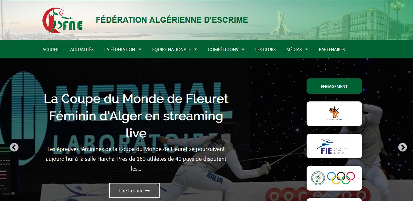 Fédération Algérienne d'Escrime